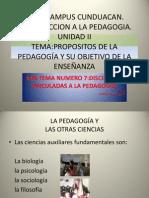 Disciplinas Vinculadas a La Pedagogia (2)