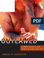 Outlawed by Daniel M. Goldstein