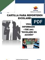 Cartilla Para Reporteros Escolares III-ok
