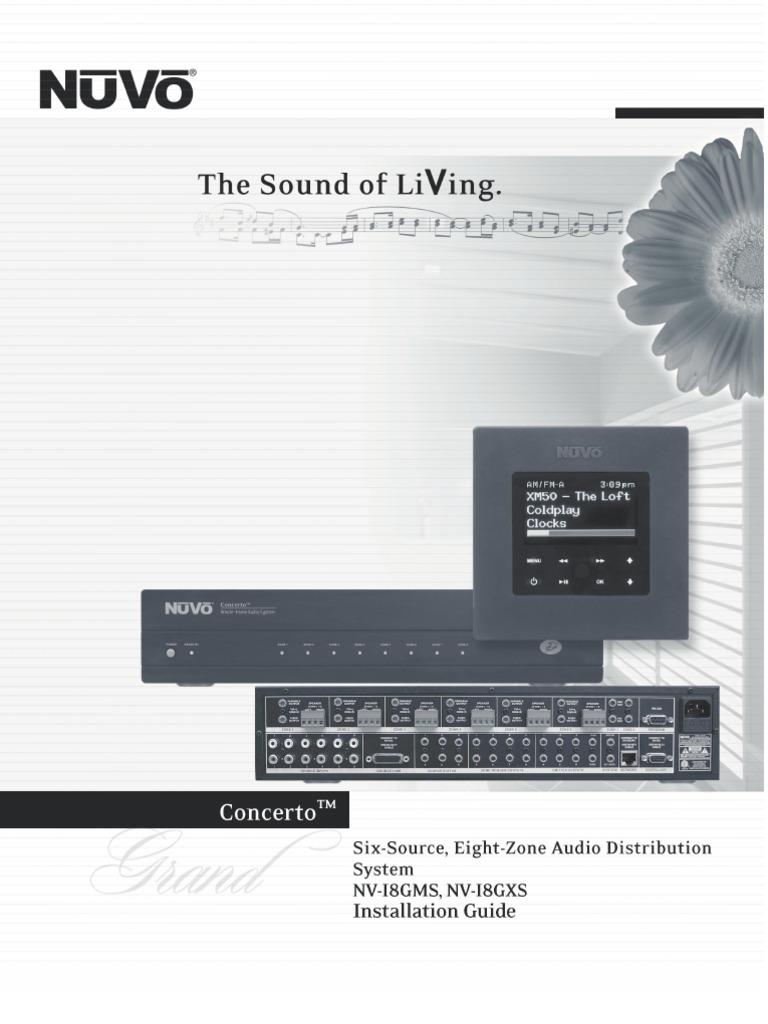 Grand Concerto Install Manual 0815 Web Ac Power Plugs And Sockets Hearing Loss