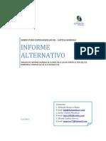 Análisis informe mundial de avance en la lucha contra el SIDA de Honduras 2012