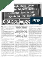 Desert Exposure-Dialing for Dollars