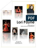 LORI PAYNE Artist Profile Packet -- May 2012