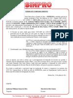 Declaração -MARCELO SANTOS
