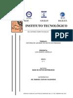 Historia de Las Bases de Datos - 09190022