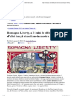 6.6.2012 Romagna Liberty, A Rimini Il Tour Fotografico Delle Ville Liberty | Info Alberghi