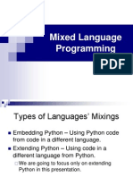 Mixed Language Programming