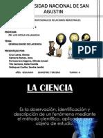 Generalidades de La Ciencia 2003