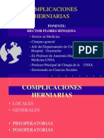 Complicaciones herniarias