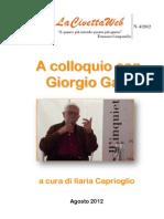 A Colloquio con Giorgio Galli