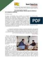Diego Olivera-Entrevista Al Ministro Saharaui Mohamed Yelsem Beisat