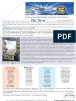Rotary Newsletter July 16