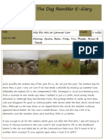 The Dog Rambler E-diary 18 July 2012