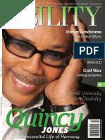 11 2011 Ability Magazine Quincy Jones and Michelle Whitten