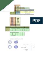 diagrama de interaccion Columna Circular Hueca en concreto armado