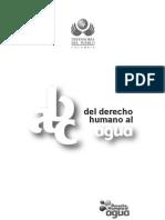 ABC Derecho Humano Al Agua