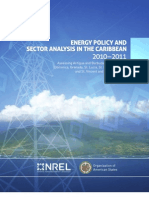 NREL, Energy Policy and Sector Analysis in the Caribbean 2010-2011, 5-2012