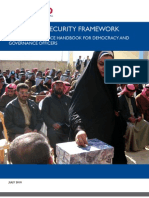 1 Electoral Security Framework