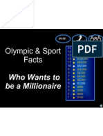 Who Wants to Be a Millionnaire - Olympics