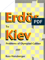 Honsberger - From Erdos to Kiev, Problems of Olympiad Caliber (270p)(Dolciani 1996)