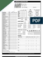 Aberrant Sheet