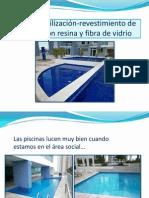 Impermeabilización Piscinas con Resina y Fibra de vidrio-Arq. Yoira Barboni M. (Panamá)