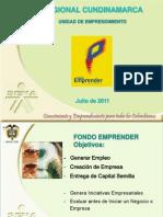 Fondo Emprender 2011
