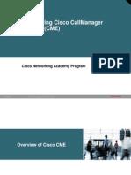 3.Configuring Cisco CME