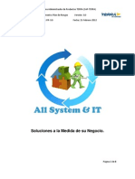 Plan de Riesgos All System & TI Version 2