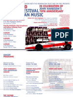The Second London Festival of American Music