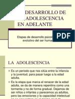 De La Adolescencia en Adelante y Teorias Conductistas de La Personalidad