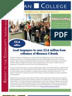 Spring 2012 Gavilan College Measure E Report