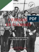 Echeverria Frederico de - L'Espagne en flamme - Un drame qui touche la France de près