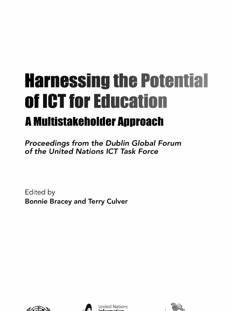 09 unicttf harnessing the potential of ict for education ebook