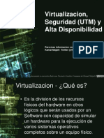 Virtualizacion, Seguridad (UTM) y Alta Disponibilidad Kamal Majaiti