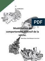 TPE Modelisation du comportement défensif de la seiche - David Monge