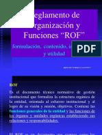 Gestion Municipal ROF
