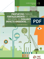 Propuestas para el fortalecimiento de Sistema Nacional de Evaluación de Impacto Ambiental en el Perú