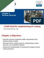 Resumen Cap 1 CCNP ROUTE V6