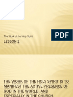 Theology of the Holy Spirit - Lesson 7
