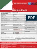 Valores de Referecnia Para Esperemograma