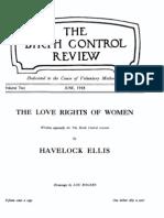 Margaret Sanger's Birth Control Review June 1918
