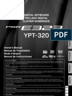 Manual Yamaha E323