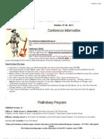 A Iowa Conference Programm