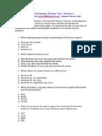 CompTIA Network Practice Test Domain 3