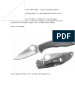 "Review técnico do canivete CIMO Heeler ( ""cópia"" do Spyderco Delica )"