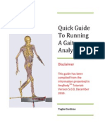 Gait Analysis Tutorial