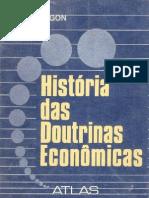 Paul Hugon Historia Das Doutrinas Economicas (Ocr-nao Revisado)