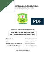 FIIS-LASL Elabora Normas Politicas