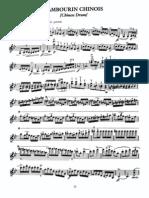 Kreisler - Tambourin Chinois - Violin